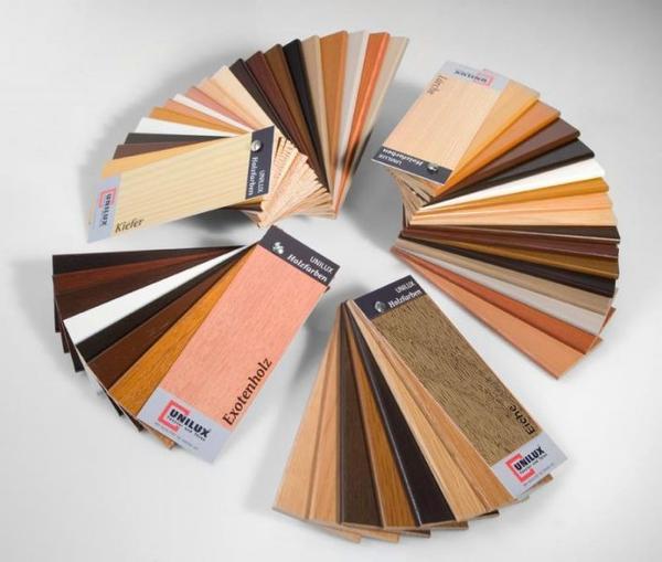 Farbpalette Holzfarben